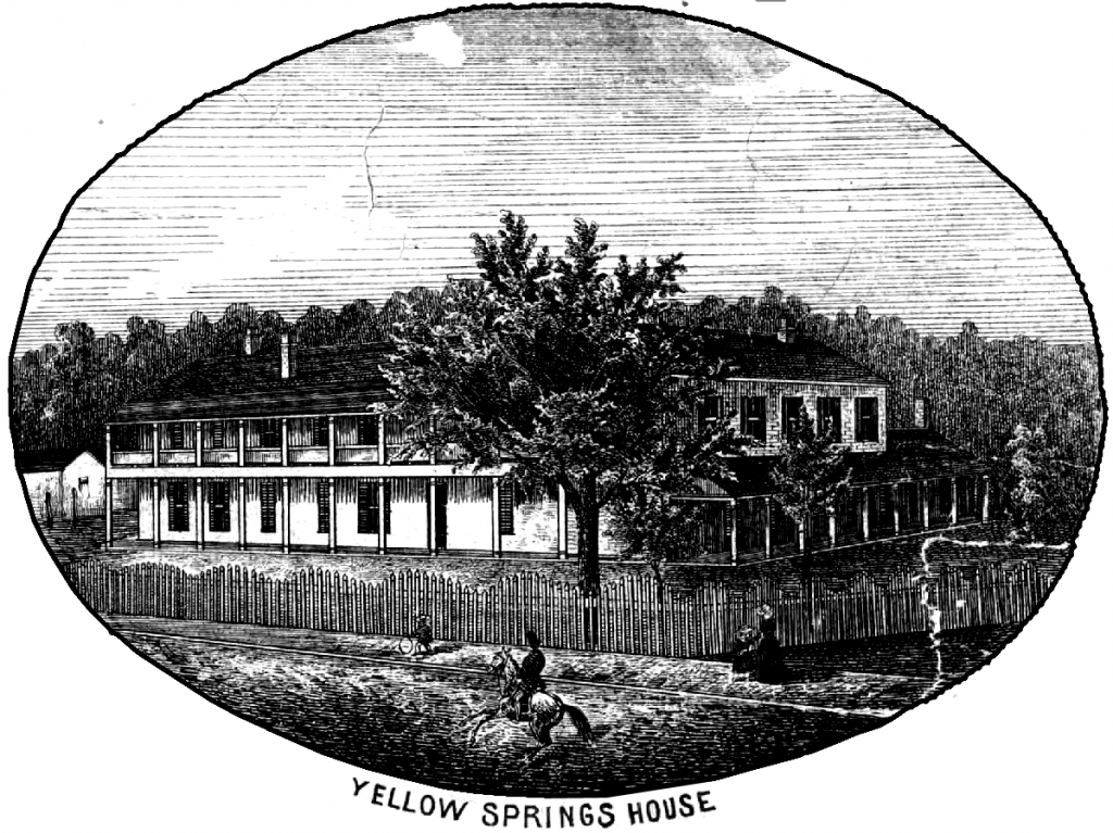 Yellow Springs House 1855