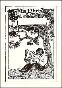 Antioch bookplate M-29