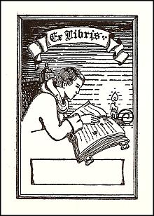 Antioch bookplate M-36