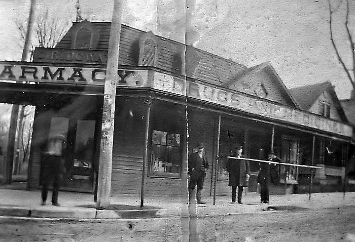 Ridgway Pharmacy, photo courtesy of Antiochiana