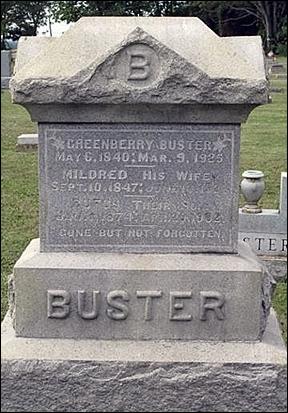 B-uster-Headstone