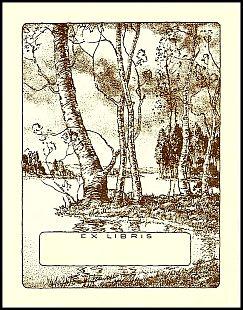 Antioch bookplate W-23