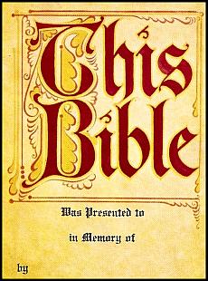 Antioch bookplate B-87