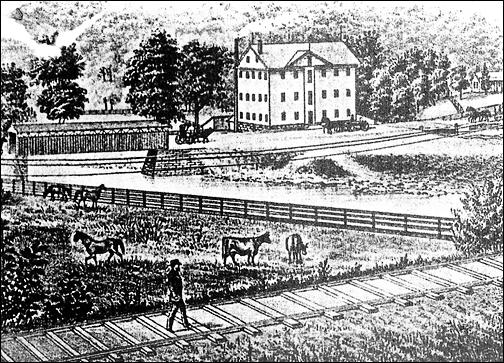 OLDTOWN FLOUR MILLS (Oldtown in 1874.)