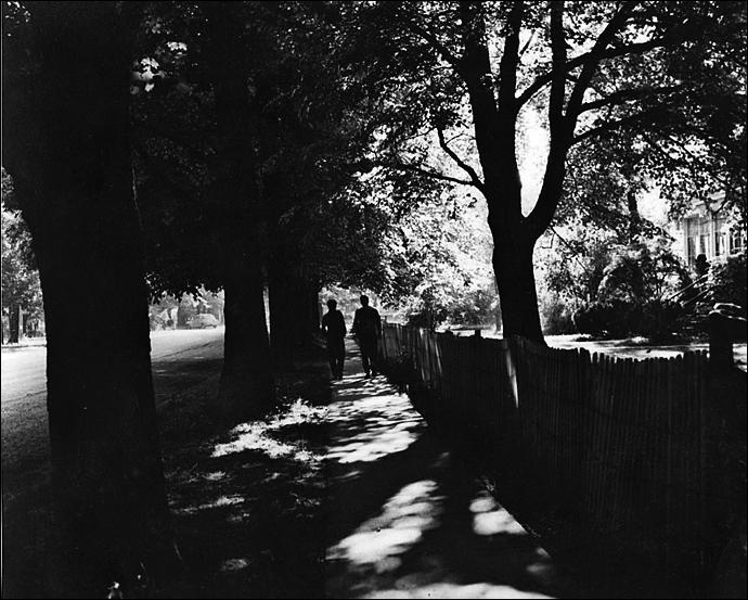 """""""Walking Down His Street"""" by John Ott"""