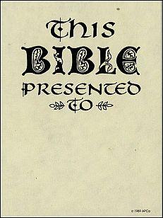 Antioch bookplate B-278